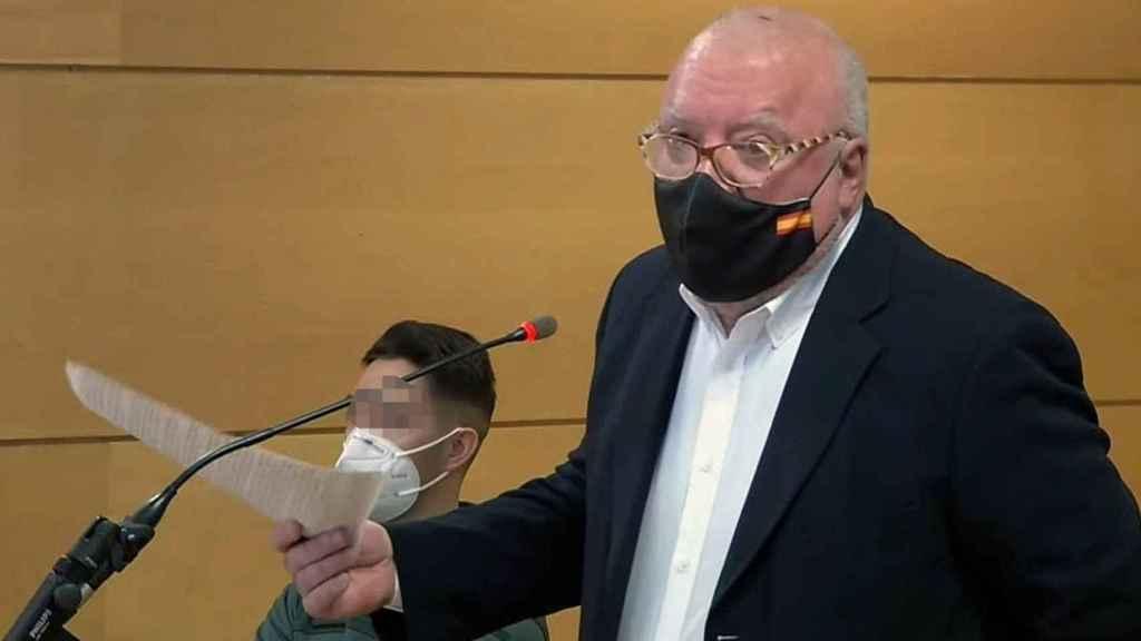 El excomisario José Manuel Villarejo ante el juez.