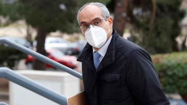 Rafael van Grieken, a su llegada a la Audiencia Provincial de Madrid./