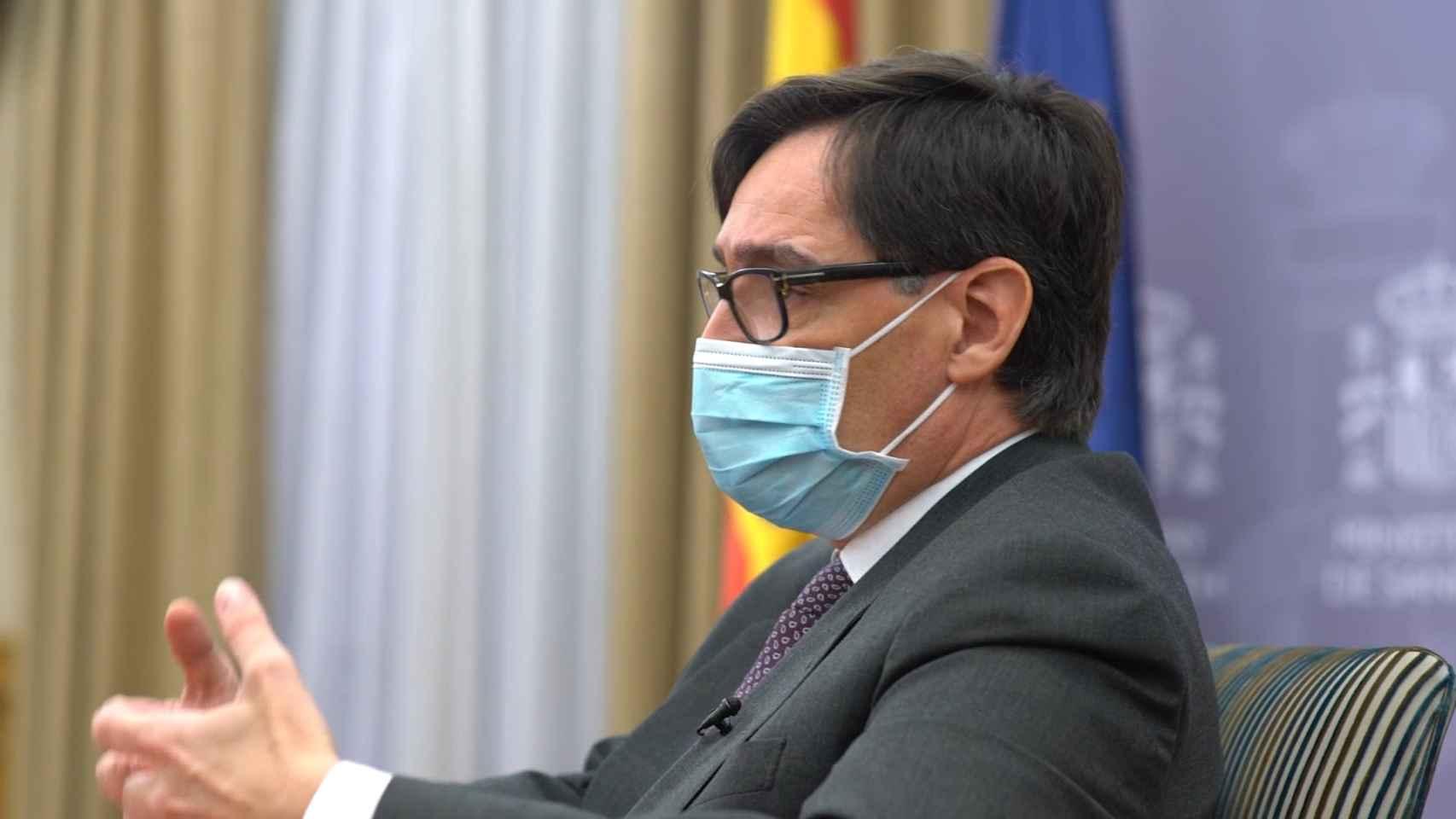 Entrevista a Salvador Illa, el ministro.