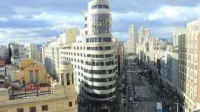 La popular Gran Vía de Madrid. FOTO: Diego Labandeira (Pixabay)