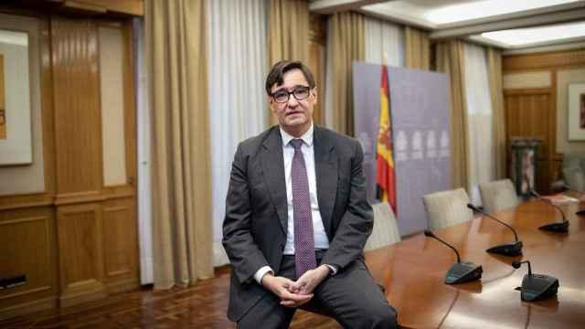 Salvador Illa, ministro de Sanidad. (Foto: Javier Carbajal)