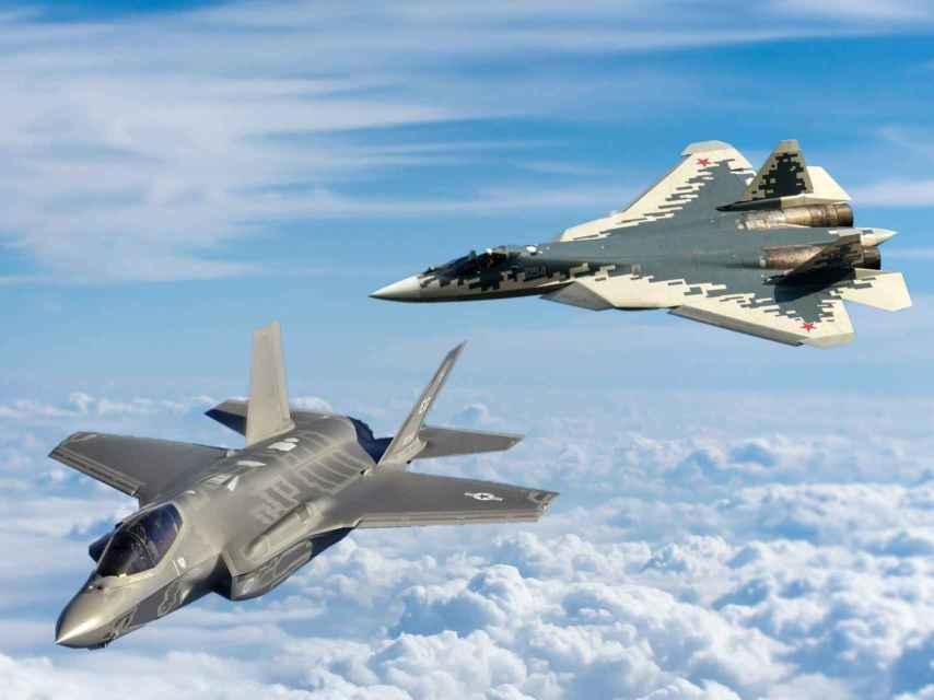 Su-57 y F-35