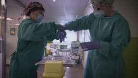 Sandra y Noe estuvieron en primera línea desde el inicio de la pandemia.