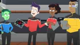 Los protagonistas de 'Star Trek: Lower Decks'.