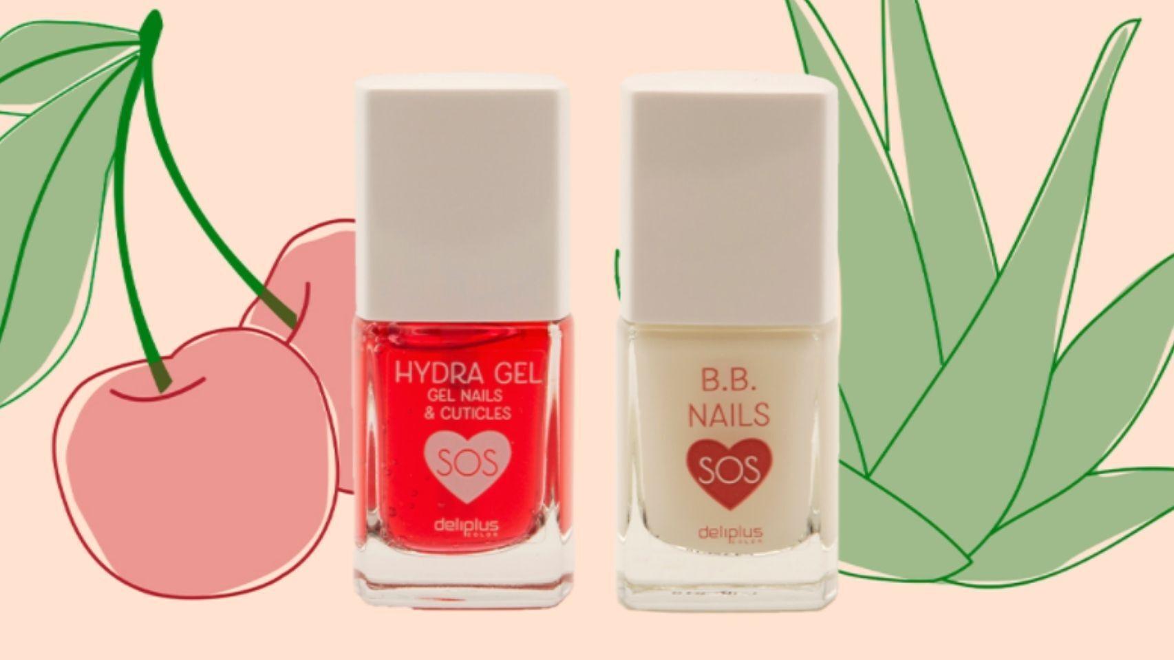 La colección SOS Nails de Deliplus te ayuda a mantener unas uñas suaves y protegidas.