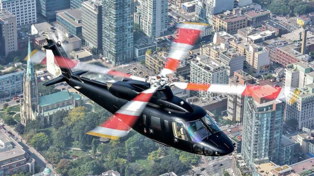 Sikorsky S-76 de transporte ejecutivo