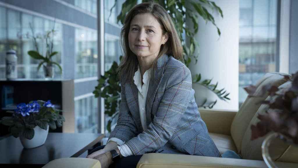 María Jesús Lamas, en su despacho de la AEMPS.