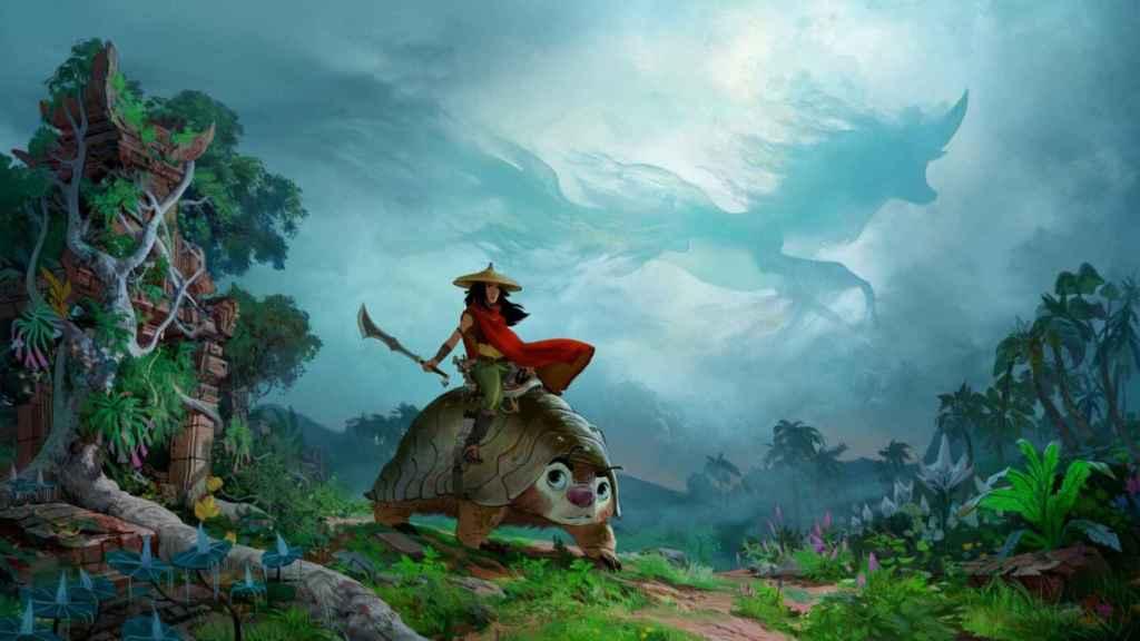'Raya y el último dragón' se estrenará en Disney+ con coste premium.