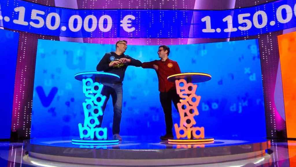 Luis de Lama y Pablo Díaz son los concursantes con más duelos de la historia de 'Pasapalabra'.