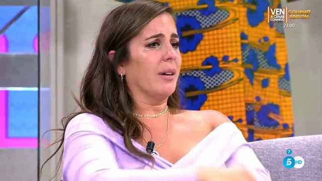 Anabel Pantoja no ha podido contener las lágrimas tras enfrentarse a Frigenti y a Belén Esteban.