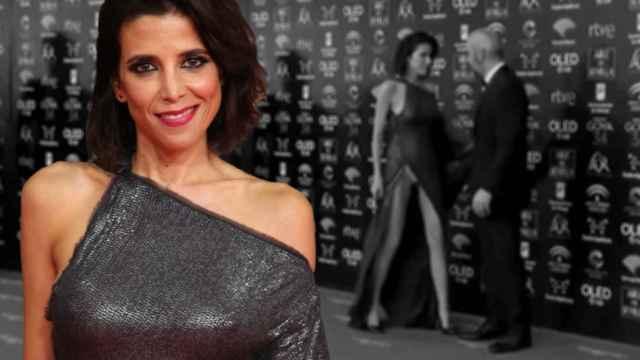La actriz María Luisa Mayol vistió un traje de Adolfo Domínguez que le jugó una mala pasada en los Goya.