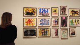 Aguadas de Miquel Barceló en el Picasso de Málaga