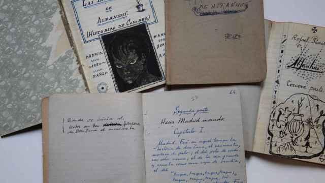 Cuadernos de Rafael Sánchez Ferlosio.
