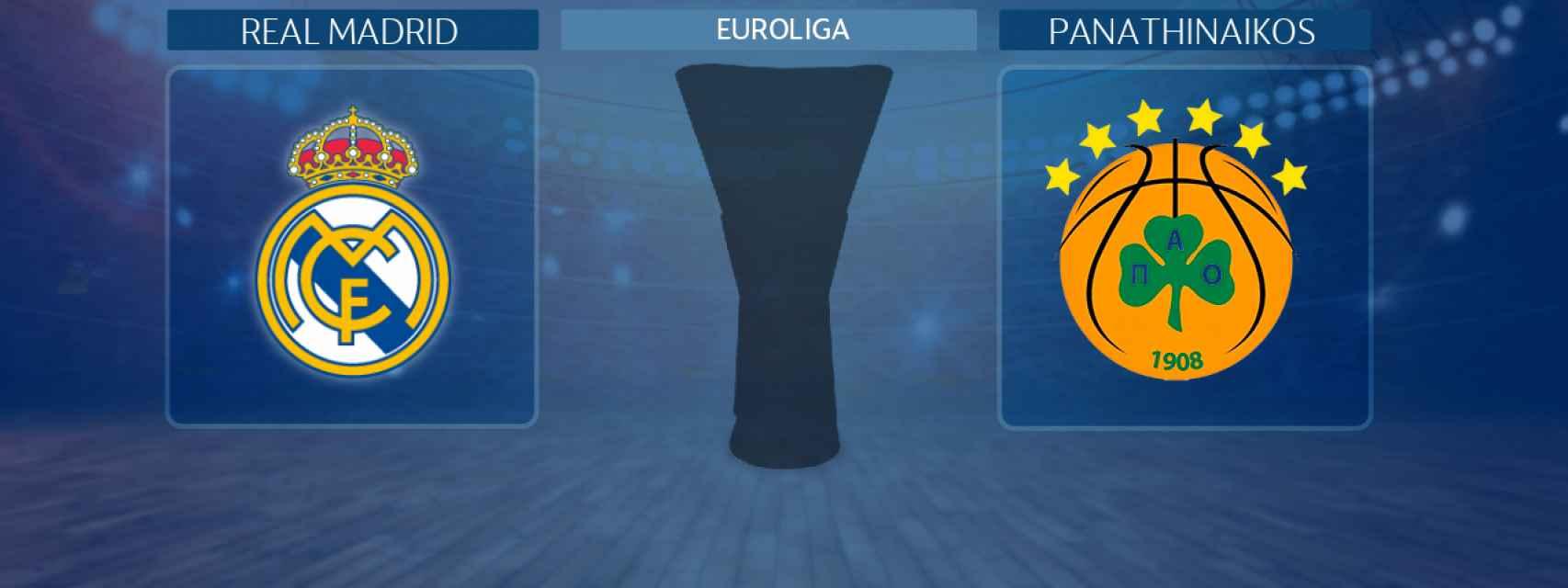 Real Madrid - Panathinaikos, partido de la Euroliga