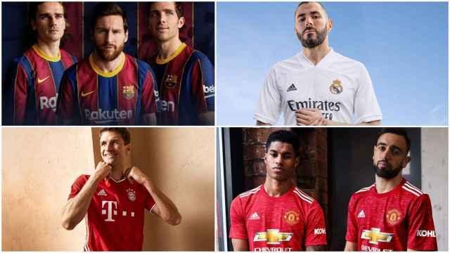 Desveladas las cuentas de los 'grandes' del fútbol: los ingresos de Barça, Real Madrid y el top20