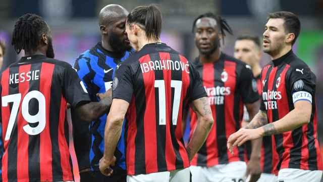 Lukaku e Ibrahimovic protagonizan una tangana en el Inter - Milan