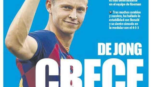 Portada Mundo Deportivo (26/01/21)