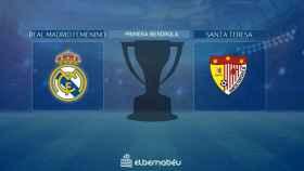 Real Madrid - Santa Teresa, de la Primera Iberdrola