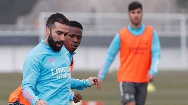 Carvajal y Asensio, las noticias del entrenamiento del Real Madrid