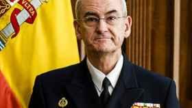López Calderón era hasta este martes el Almirante Jefe del Estado Mayor de la Armada (AJEMA).