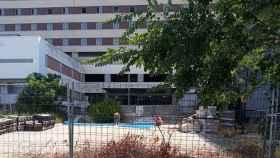 El Hospital Militar de Sevilla en una imagen de archivo.