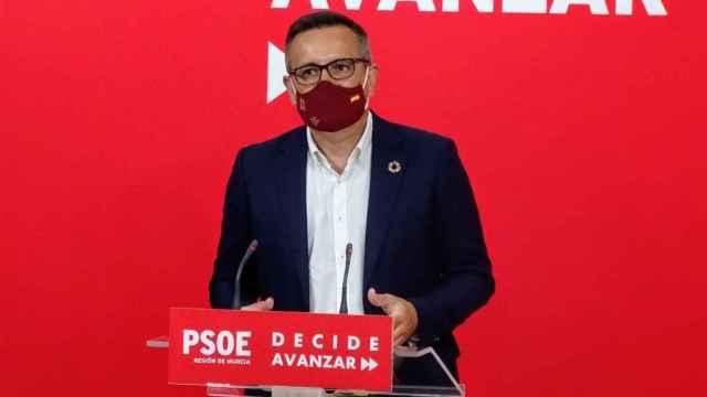 Diego Conesa, secretario general del PSOE en la Región de Murcia.