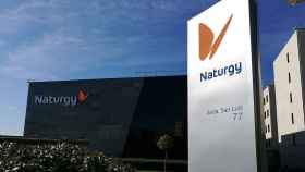 Exteriores de la sede de Naturgy en Madrid.