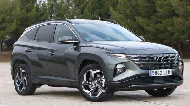 El  Hyundai Tucson es el segundo coche más vendido en España.