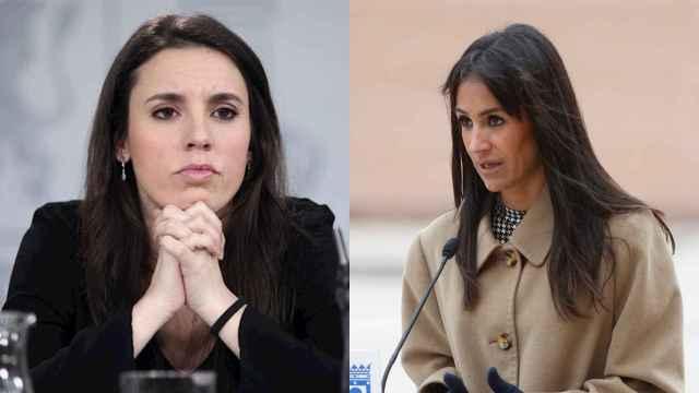 Irene Montero y Begoña Villacís.