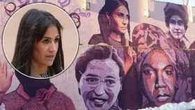 Begoña Villacís, sobre el mural feminista de Ciudad Lineal.