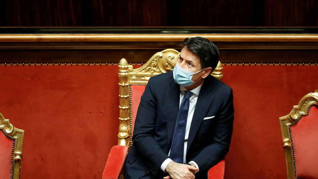 El primer ministro italiano, Giuseppe Conte.