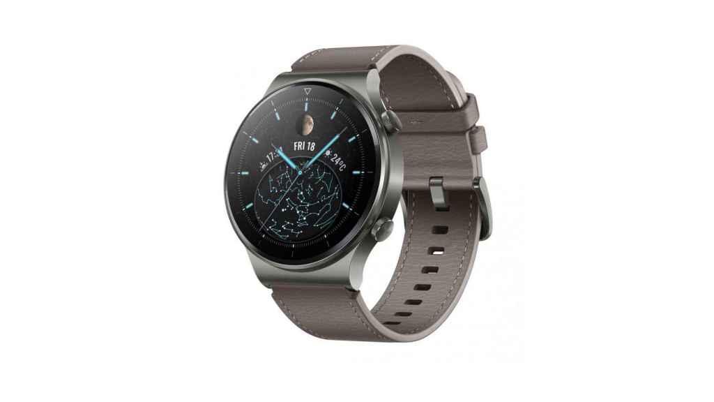 Así es el diseño del Huawei Watch GT 2 Pro.