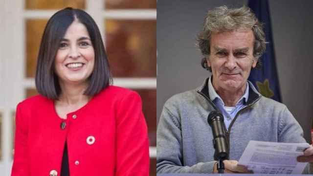 Carolina Darias y Fernando Simón.