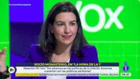 Rocío Monasterio durante su intervención en el programa.