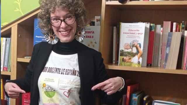 Alicia Tojeiro, mejor docente de España de Primaria en 2020.