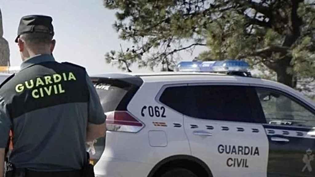 Un efectivo de la Guardia Civil.