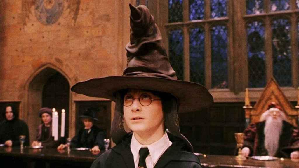 El sombrero seleccionador de Hogwarts.