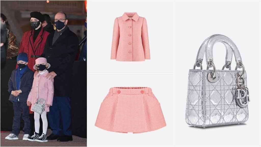 Total 'look' de Dior de la princesa Gabriella.