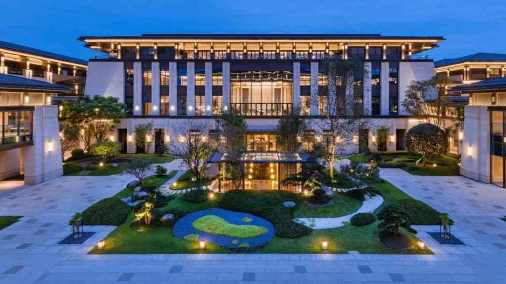 Hotel Gran Meliá Chengdu en China.