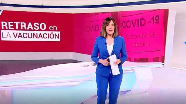 El 'Telediario' sigue sin estrenar su nuevo decorado.