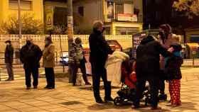 Los vecinos se echan a la calle después de los terremotos en Granada.
