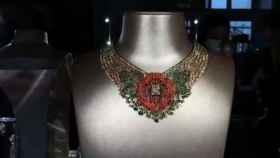 Camelia Bizantina, el collar de diamante amarillo de Chanel.
