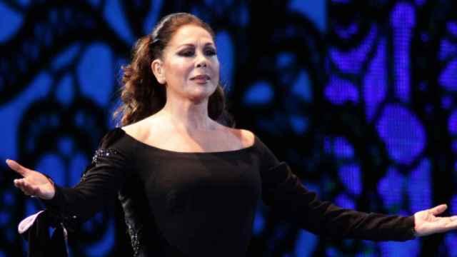 Isabel Pantoja en uno de sus conciertos.