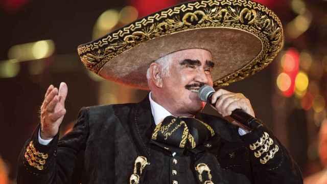 El cantante mexicano Vicente Ferández.