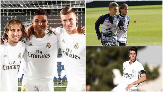 El centro del campo del Real Madrid