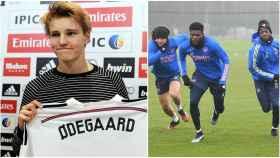 Odegaard y el Arsenal