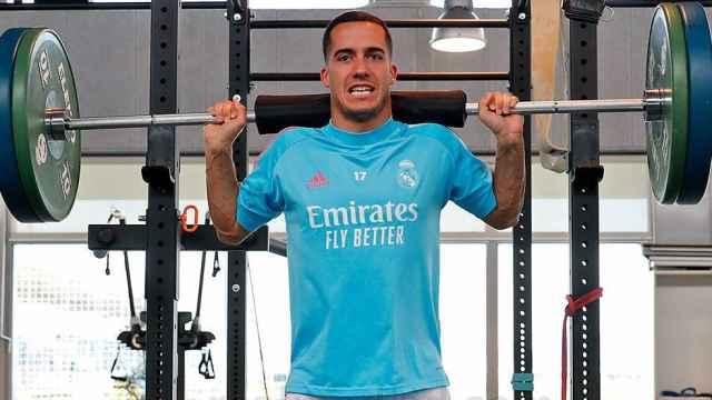 Lucas Vázquez enciende las alarmas en el entrenamiento del Real Madrid