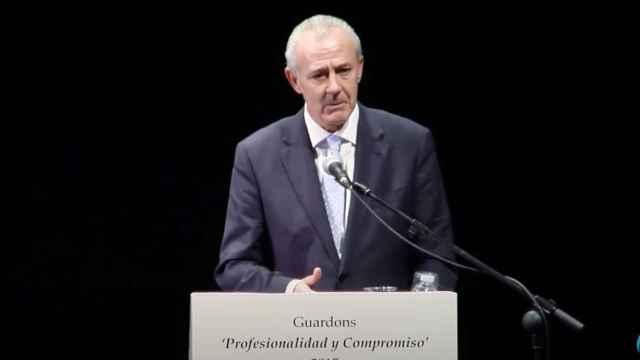 José Luis Cuesta, el  fiscal jefe de Castellón que ha dimitido tras colarse en la vacunación. EE