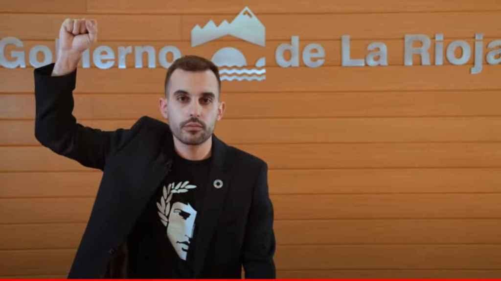Mario Herrera dimite como director General de Participación y Derechos Humanos del Gobierno de La Rioja.