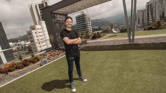 Óscar Giraldo, fundador y CEO de PlayVox